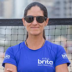 Joana Cortez Beach Tennis Brita Class