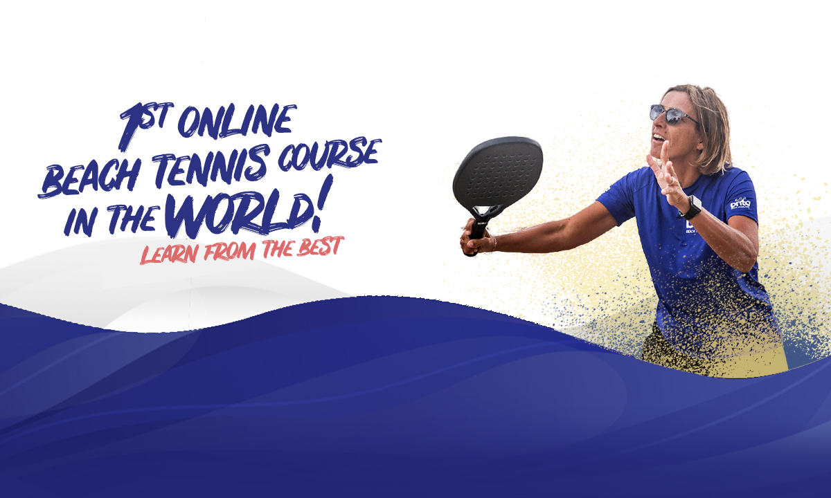 Brita Beach Tennis 1st online beach tennis course